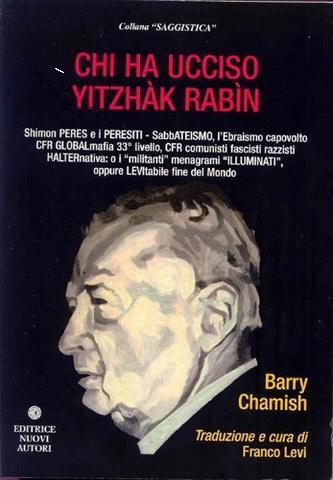 Chi ha ucciso RABIN di Barry Chamish copertina